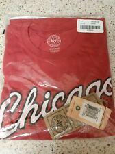 Chicago Blackhawks Forty Seven Brand Hockey T-shirt Red Xl Nwt