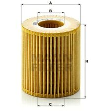 Mann Oil Filter Element Metal Free For BMW 1 Series 116i 118i 120i