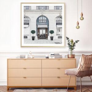 NEW 31 Rue Cambon I Square Unframed Premium Wall Art Print   Chanel Home Decor