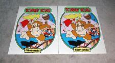 Donkey Kong Dedicated Arcade Machine Uv Screen Printed 6 mil Side Art Set