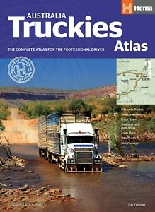 New Australia Truckies Atlas Hema 7th Edition Spiral Bound