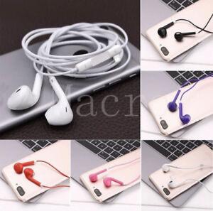 10 / 50/ 100x Lot Mix Color Earphones Earbuds Headsets Headphones Remote & Mic