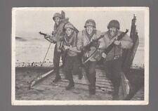"[58731] 1964 DONRUSS COMBAT #8 ""HITTING THE BEACH!"" TRADING CARD"