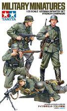 TAMIYA GERMAN WWII INFANTRY SET FRENCH CAMPAIGN Scala 1:35 Cod.35293