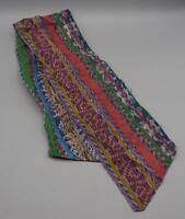 Vintage Womens 1960s Colorful Multicolor Scarf