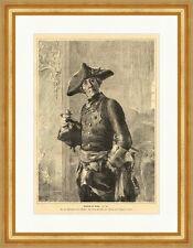 Friedrich der Große Deutsches Reich König Preußen Hohenzollern  E 3835
