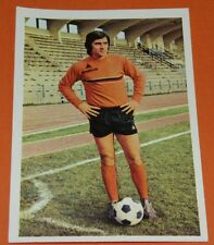 159 DANIEL ZORZETTO PARIS FC AGEDUCATIFS FOOTBALL 1973-1974 73-74 PANINI