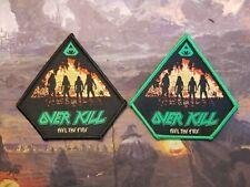 OVERKILL FEEL THE FIRE THRASH METAL PATCH EXODUS DESTRUCTION KREATOR SODOM