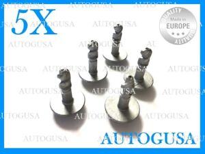5X AUDI BMW UNDER ENGINE & GEARBOX UNDERTRAY COVER SCREWS FASTENERS 8K0805121