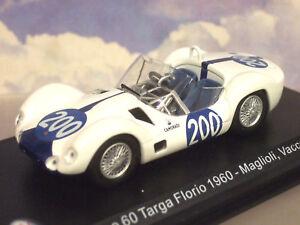 "1/43 DCST MASERATI TIPO 60 ""BIRDCAGE"" #200 TARGA FLORIO 1961 MAGLIOLI/VACCARELLA"