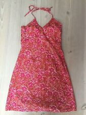 H&M red cotton floral sun dress. Size 38 / 10