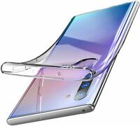 For Samsung Galaxy Note 10 Plus Pro Shockproof Rubber Clear Slim Case Cover UK