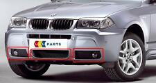 BMW X3 E83 LCI 07-11 NEW GENUINE FRONT M SPORT BUMPER LOWER GRILL SET OF THREE