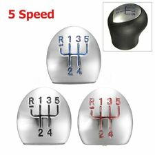5 Speed Gear Shift Shifter Knob Cap Cover Insert For Renault Megane Clio Kangoo