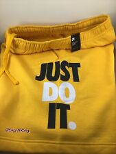 Nike Sportswear Men's JDI Just Do It Shorts University Gold size Large