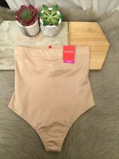 Spanx Suit Your Fancy High Waist Thong Size L: Champagne Beige #10196R (103)