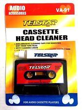 Audio Cassette Tape Head Cleaner & Liquid Solution