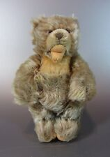 """Vintage Mohair plush Zotty Light Brown Colored Steiff Bear with Open Mouth 8"""""""