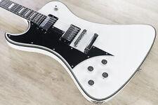 Hagstrom Fantomen Guitar, Left-Handed, Resinator Fingerboard, Gloss White