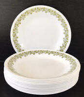 """Vintage Corelle Spring Blossom Bread Plates 6 3/4"""" Set Of 11 By Corning"""