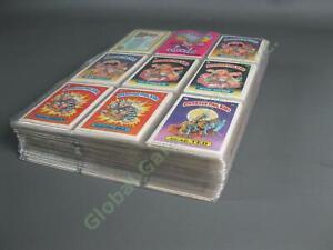 ALMOST COMPLETE Original Series 1985 Garbage Pail Kids Series OS1-11 13 Card Set