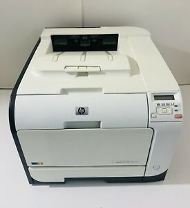 HP LaserJet Pro 400 M451nw Workgroup Color Printer, WiFi Networkable, 41k CB956A