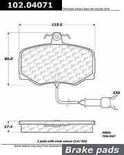Centric 102.04071 Disc Brake Pad-C-TEK Metallic Brake Pads-Preferred Front