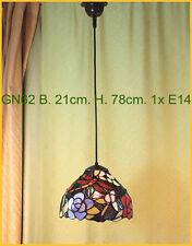 Tiffany Decken Lampe Deckenlampe Hängelampe Tiffanylampe GN62