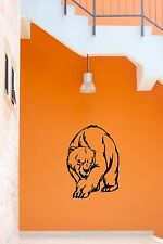 Wall Stickers Vinyl Decal Polar Bear Animal Predator Tribal ig651