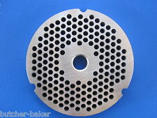 "#32 3/16"" (4.5mm) STAINLESS Meat Grinder Plate for Hobart 4332 4532 TorRey etc"