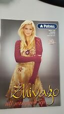 Patons Pattern Book #1235 Zhivago All Wrapped Up 19 Styles XXS to XL for Women
