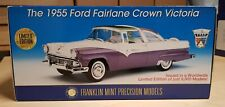 FRANKLIN MINT NRFB THE 1955 FORD FAIRLANE CROWN VICTORIA
