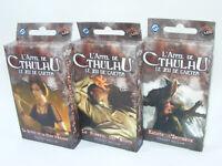 L'APPEL DE CTHULHU Le jeu de cartes Lot de 3 Paquet ASYLUM Kadath/Sommeil/Clef..