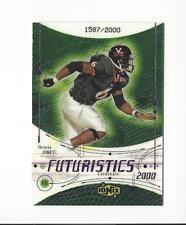 2000 UD Ionix #87 Thomas Jones RC Rookie Cardinals /2000