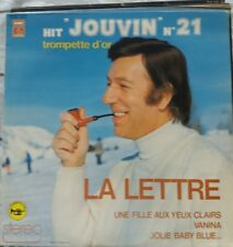 33T Georges JOUVIN LP HIT N° 21 TROMPETTE D'OR - la lettre -PATHE 16117