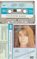 FRANCOISE HARDY j'écoute de la musique saoule cassette K7 tape LABEL 747