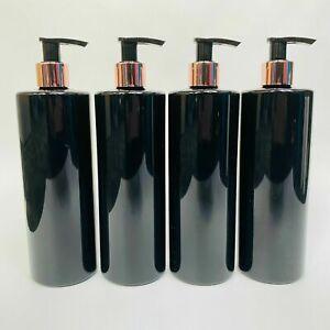 AU 500ML 10 X Pump Bottle White PET Plastic Refillable Mrs Hinch Customisable
