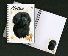 Newfoundland Dog Notebook/Notepad + small image on each page - by Starprint