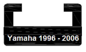 UHMW Hyfax Slides for YAMAHA 1996-2006 - pair RX-1 VMax SX Venture SRX - BLUE