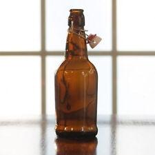 500mL Brown Flip-Top Bottles - Case of 12