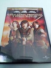 """DVD """"CABALLEROS, PRINCESAS Y OTRAS BESTIAS"""" COMO NUEVO DAVID GORDON GREEN PORTMA"""