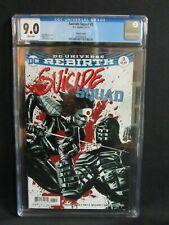 Suicide Squad #3 (2016) D.C Bermejo Variant CGC 9.0 R403