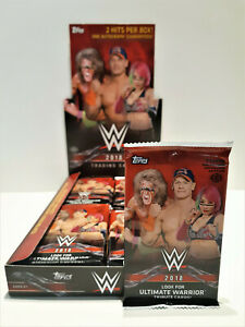 Topps WWE 2018 Trading Cards sealed 7 card Pack