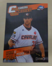 2014 ETHAN COLE Australian Baseball League-Canberra Cavalry- Kansas City T-Bones