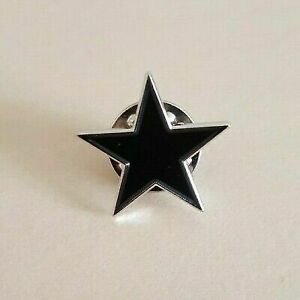 David Bowie Black Star badge pin