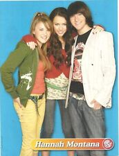 Miley Cyrus, Emily Osment and Mitchel Musso, Full Page Pinup