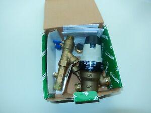Caleffi pressure reducing valve adjustable 15mm 1-6 bar pressure range 5350 15H