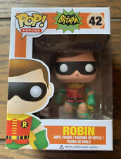 Funko Pop Batman 1966 TV Series ROBIN Pop! #42 Vinyl Figure! New In Box!