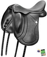 Bates Innova Mono+ Dressage Adjustable Deep Seat Performance Saddle CAIR Black