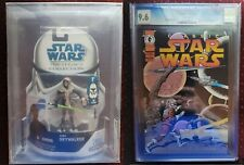 Star Wars Luke Skywalker AFA Graded U90 Classic Star Wars #15 CGC Graded 9.6